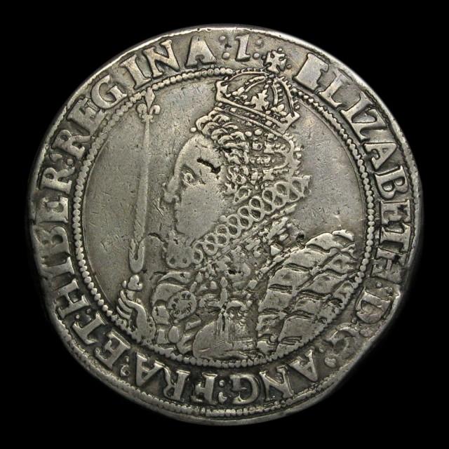 Elizabeth I 1558 1603 Silver Crown Amr Coins