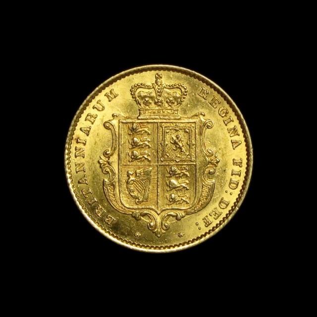 Victoria (1837-1901) - Gold Half Sovereign   AMR Coins