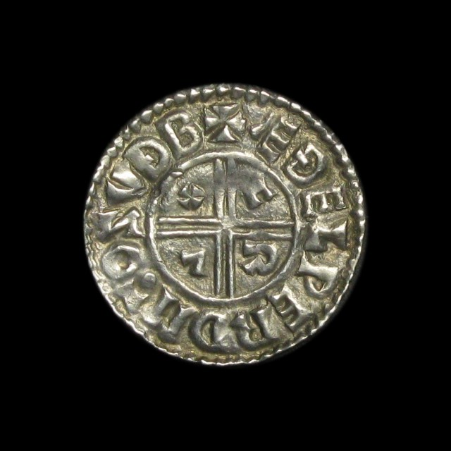 Aethelred Ii 978 1016 Silver Penny Amr Coins