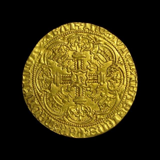 Henry V 1413 1422 Gold Noble Amr Coins