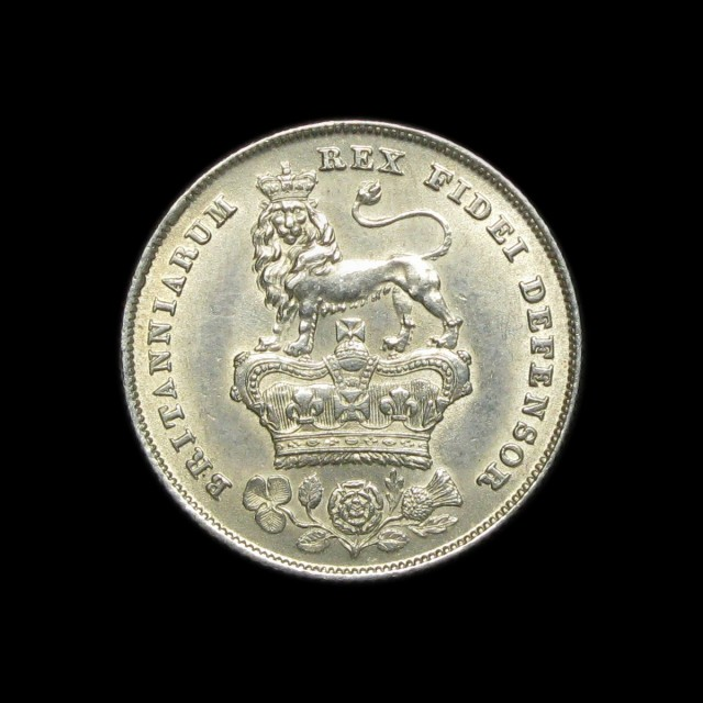 George Iv 1820 1830 Silver Shilling Amr Coins
