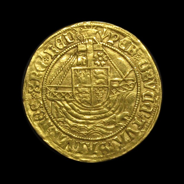 Henry Vii 1485 1509 Gold Angel Amr Coins