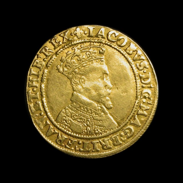 James I 1603 1625 Gold Double Crown Amr Coins