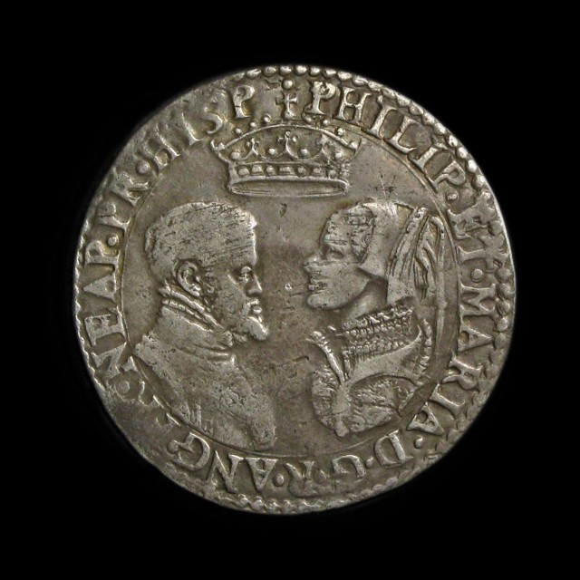 Philip And Mary 1554 1558 Silver Shilling Amr Coins