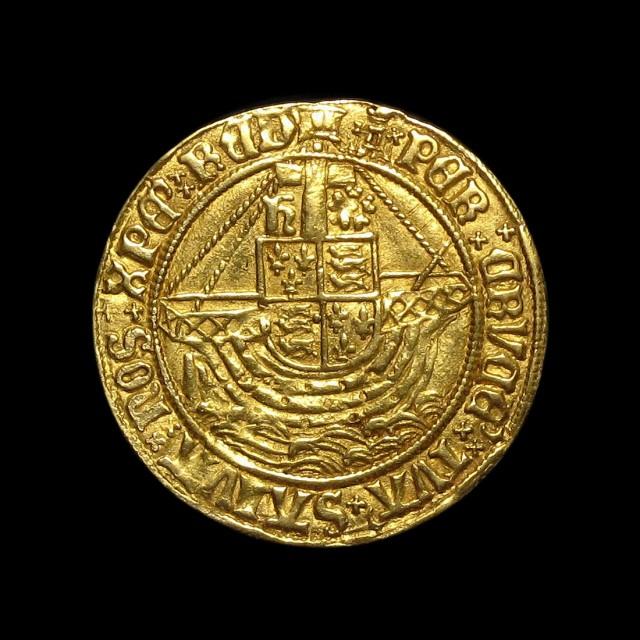 Henry Viii 1509 1547 Gold Angel Amr Coins