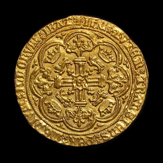 Edward Iii 1327 1377 Gold Noble Amr Coins