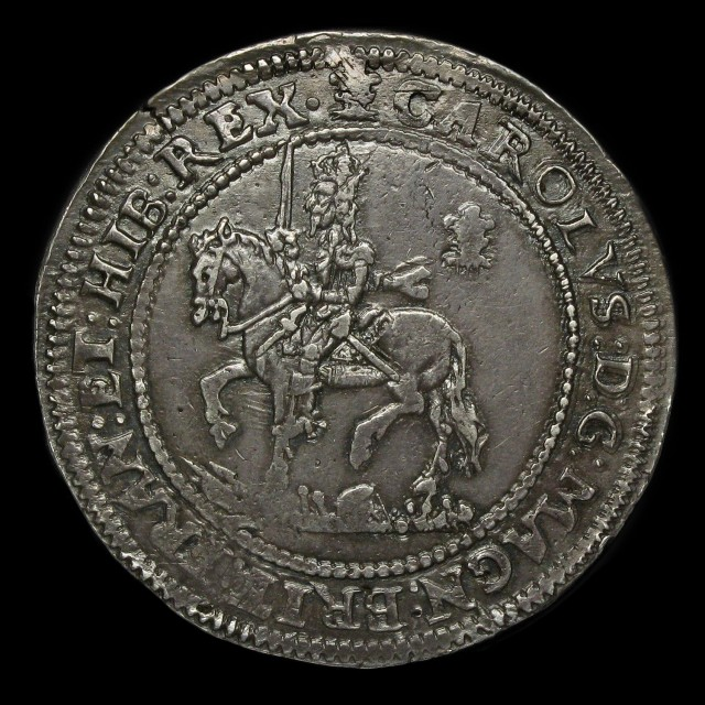 Charles I 1625 1649 Silver Half Pound Amr Coins