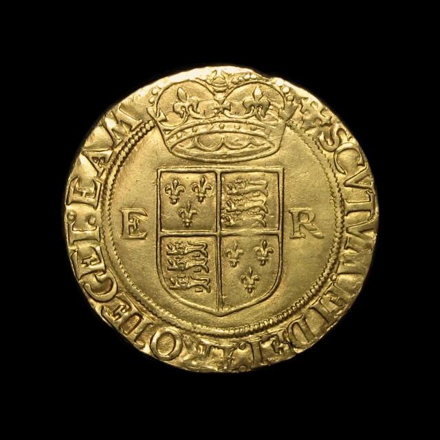 Elizabeth I 1558 1603 Gold Half Pound Amr Coins