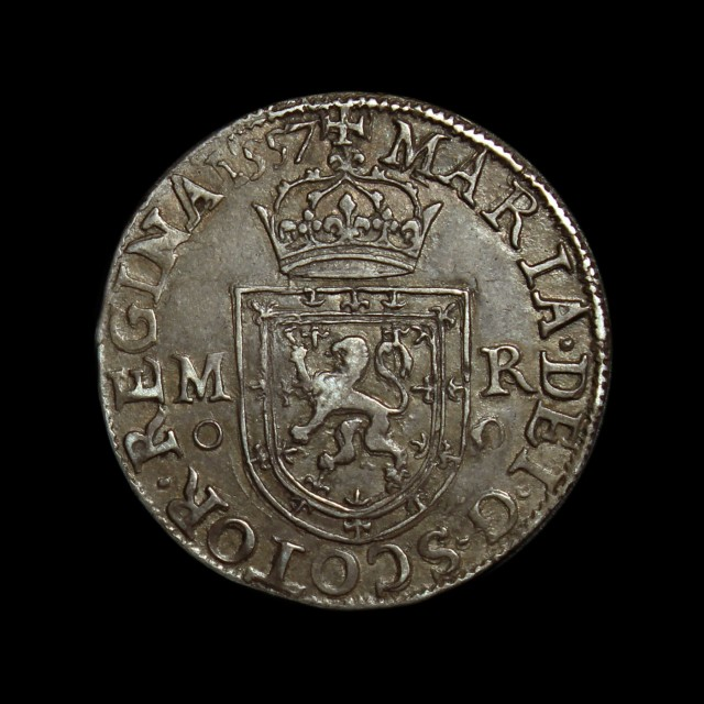 Mary Queen Of Scots 1542 67 Silver Testoon Amr Coins