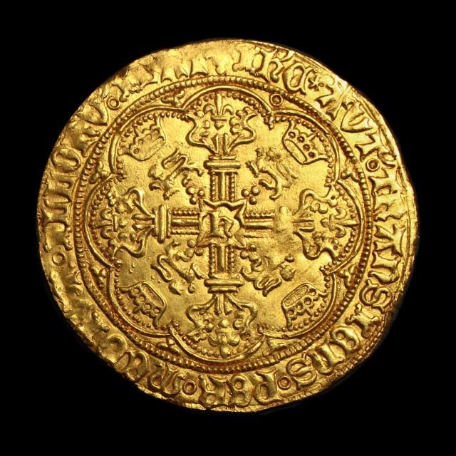 Henry Vi 1422 1461 Gold Noble Amr Coins