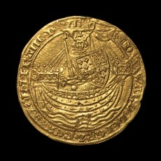 Edward III noble obverse